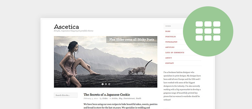 Best Free Minimalist Blog WordPress Themes 2017