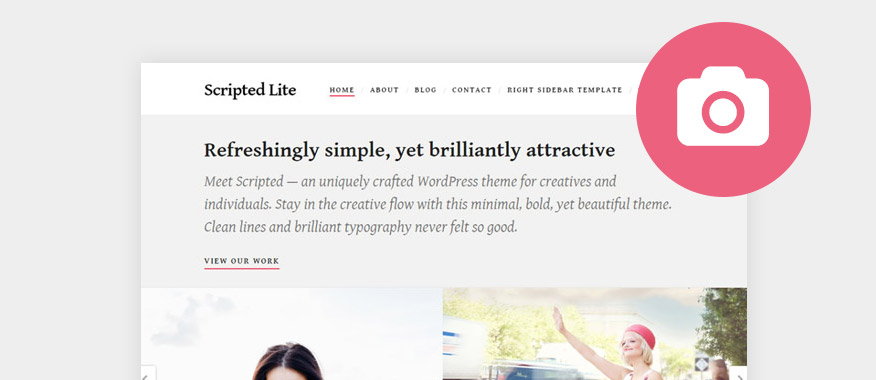Best Free Minimalist WordPress Portfolio Themes 2017