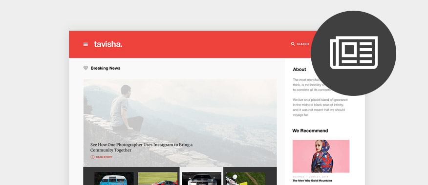 Best Free Minimal Magazine WordPress Themes 2017
