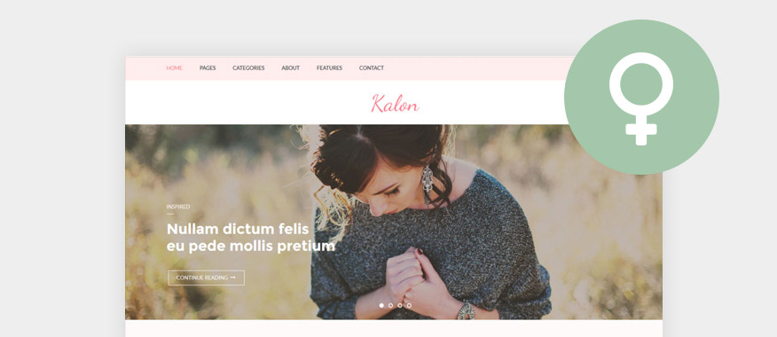 Best Free Feminine WordPress Themes