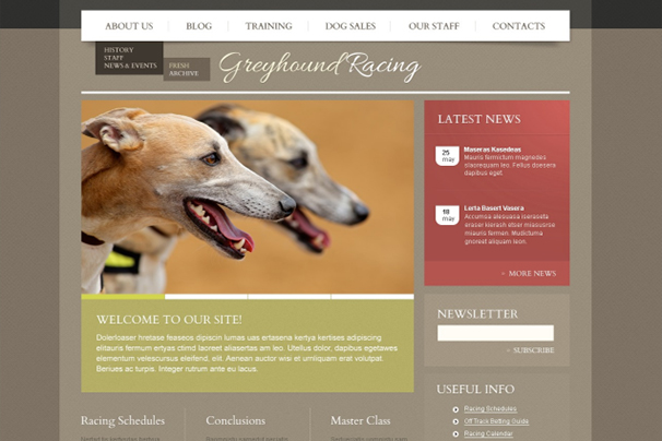 Dog WordPress Theme