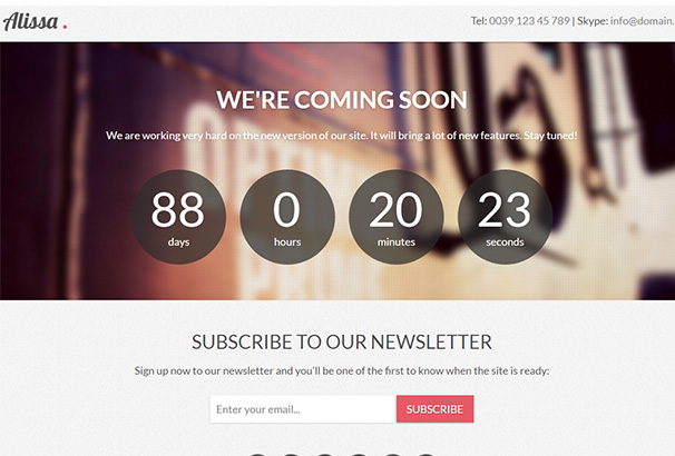 alissa-coming-soon-wordpress-theme-1