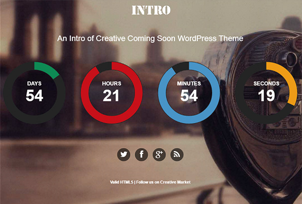 Intro Creative Landing Page