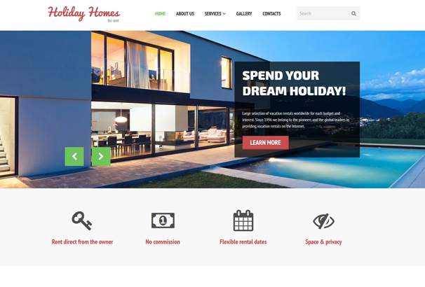 60 Best HTML Real Estate Website Templates 2017 – House for Rent Template