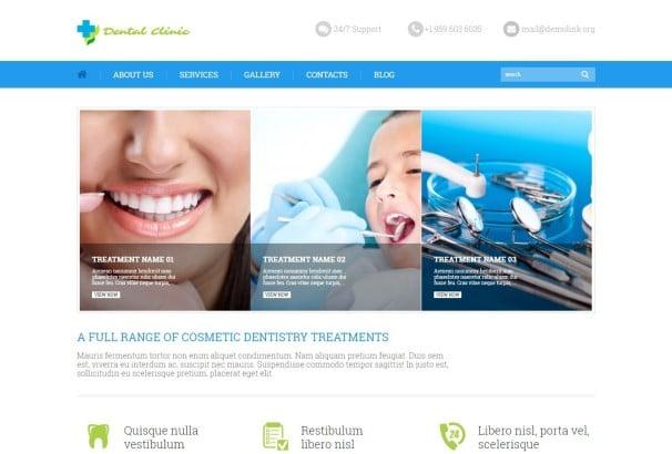 50+ Top Dentist WordPress Themes 2017