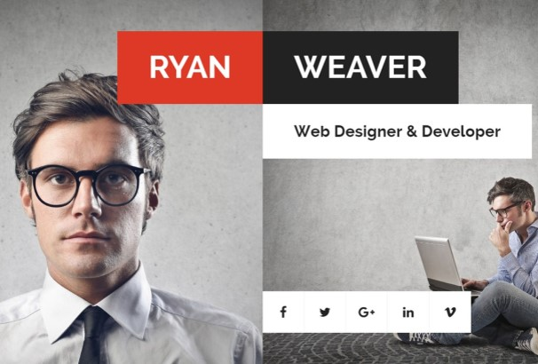 using this unique wordpress vcard theme for your online resume could set you apart from your competition