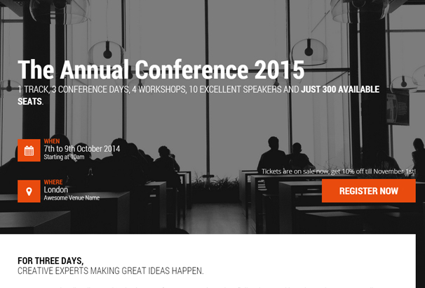 What are some good conference themes?