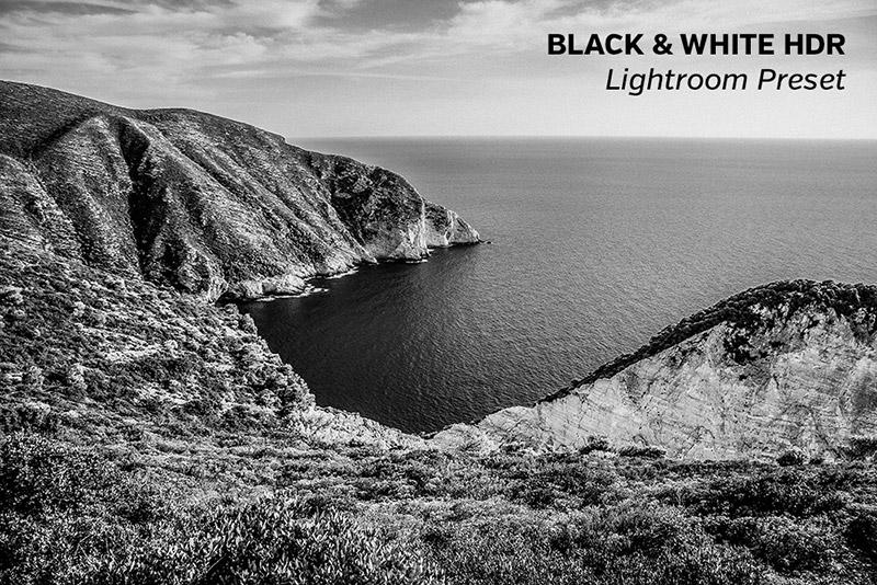 Photography, B&W HDR, Lightroom Preset