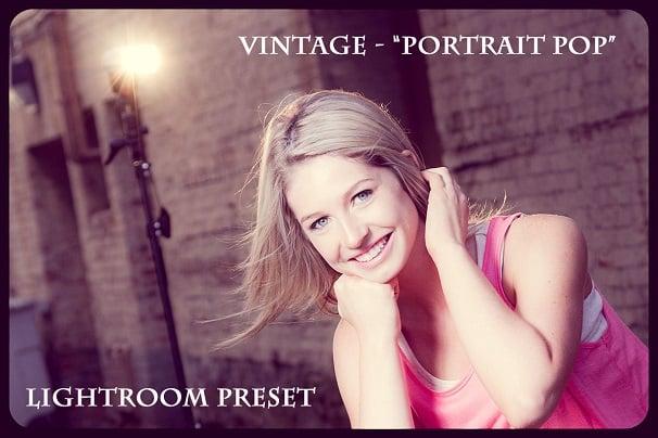 Fashion Vintage Preset, Photography, Lightroom Preset