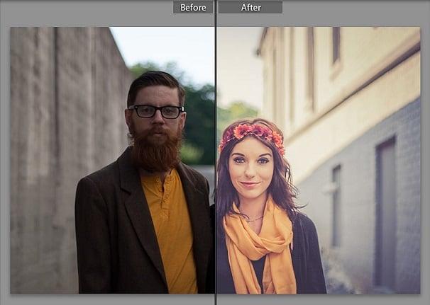 Photography, Lightroom Preset, Warm Retro