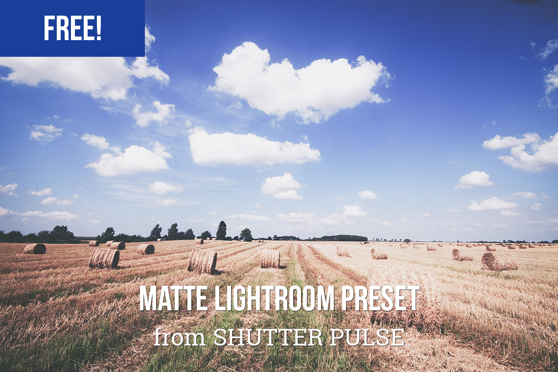 Photography, Lightroom Preset